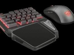 GXT 888 Assa, un teclado 'gamer' que se controla con una sola mano