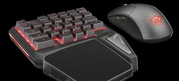 Presentan el GXT 888 Assa, un teclado 'gamer' que se controla con una sola mano