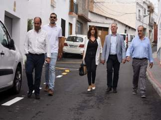Visita de obras de la Diputación