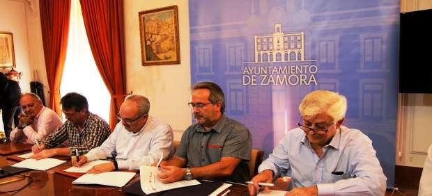 UGT y CCOO destacan el diálogo social del Ayuntamiento de Zamora como