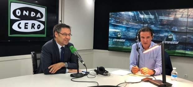 Josep María Bartomeu y Jose Ramón de la Morena