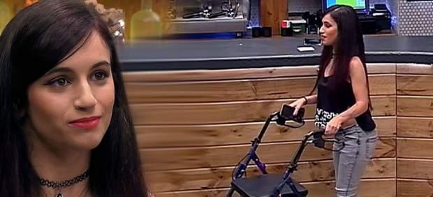 """Irina se confiesa en 'First Dates': """"Tengo parálisis cerebral y comprendo que haya gente que me mire y me rechace"""""""