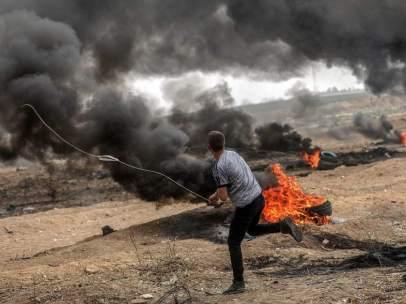 Enfrentamientos en Gaza, Palestina