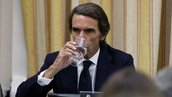 Duro rifirrafe entre Rufián y Aznar en el Congreso