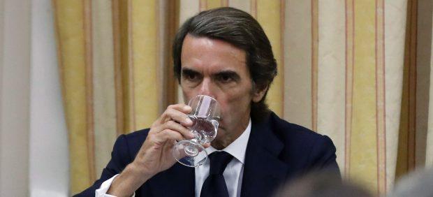 Aznar y Rufián, choque frontal en el Congreso: