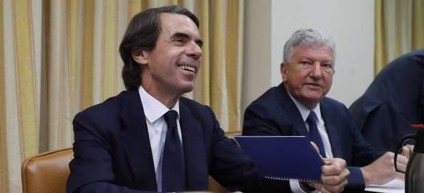 Las frases más contundentes de la comparecencia de Aznar en el Congreso