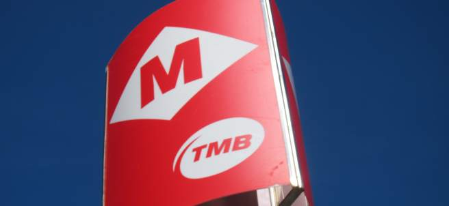 Metro Barcelona TMB.