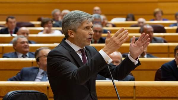 """Marlaska defèn retirar l'aforament com a """"privilegi"""" dels polítics respecte a les seues actuacions privades"""