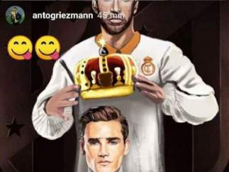 Griezmann y Sergio Ramos