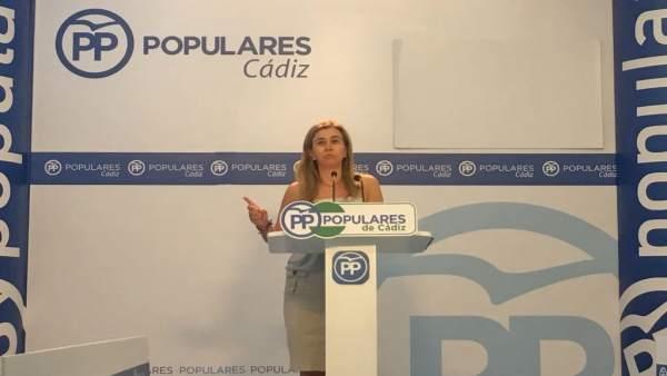 Teresa Ruiz-Sillero, parlamentaria del PP por Cádiz