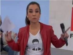 El CAC avala que una presentadora de TV3 lleve una camiseta con la cara de Puigdemont