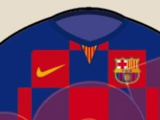 Diseño de la camiseta del Barça 19/20.