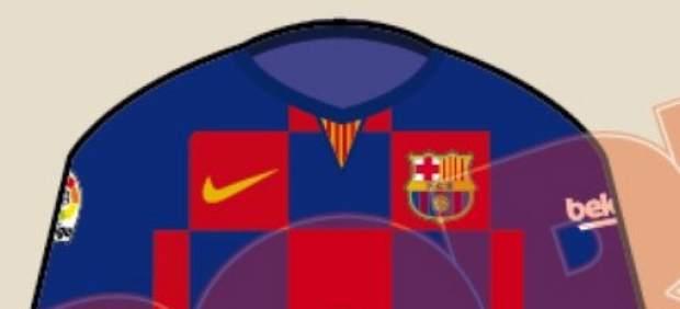 Se filtra un polémico diseño de la camiseta del Barça de la próxima temporada