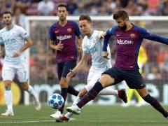Golazo de falta de Messi para adelantar al Barça ante el PSV