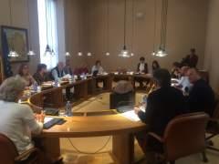 Reunión de la Xunta de Portavoces en el Parlamento gallego