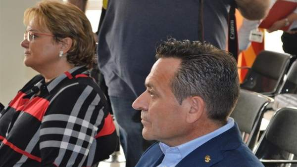Marlen Minguell y Gerard Serra, en una imagen de archivo del juicio
