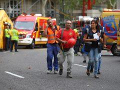 Al menos un muerto y 11 heridos en un derrumbe en las obras del hotel Ritz de Madrid