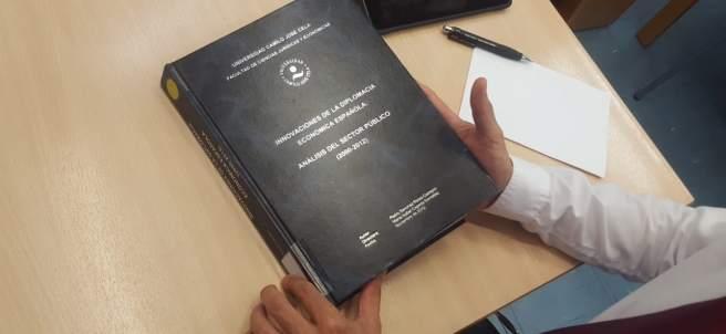 Tesis doctoral de Pedro Sánchez enla universidad Camilo José Cela