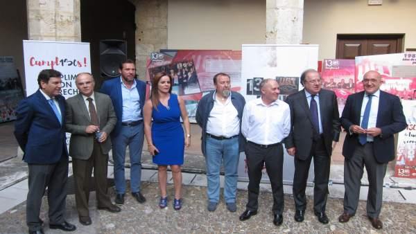 Inauguración de la exposición de los 130 años de UGT