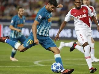 Diego Costa ante el Atlético