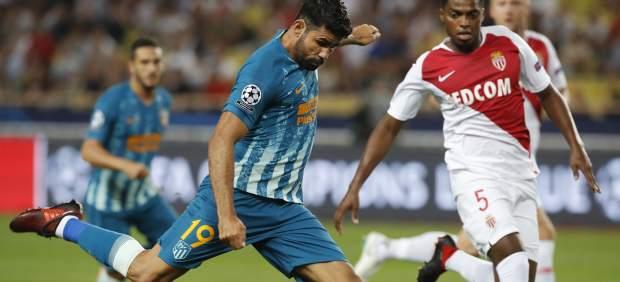 Remontada del Atlético de Madrid frente al Mónaco en su estreno en la Champions