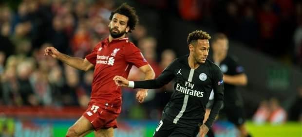 El Liverpool derrota al PSG en un partido de infarto