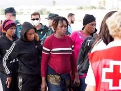 Rescatados 223 inmigrantes cerca de la isla de Alborán