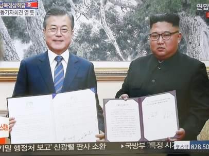 Cumbre entre las dos Coreas