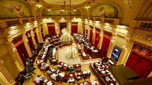 Imagen del debate de Baleares desde arriba