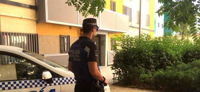 La Policía Municipal detiene al agresor