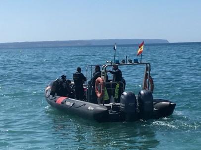 Embarcación de búsqueda de la Guardia Civil, en una imagen de archivo