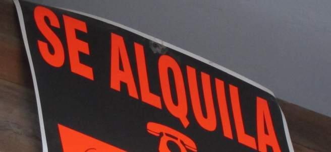 Se Alquila, Cartel Alquiler