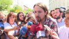 """Iglesias sobre pensionistas: """"No se les puede tratar a empujones"""""""
