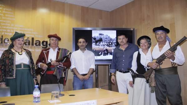 Alameda el Tempranillo recreación histórica 2018 oblaré y alcalde Juan Pinazo