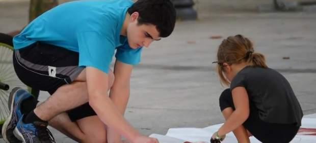 Covite denuncia el uso de niños en una campaña abertzale en favor de libertad de una etarra ...