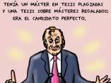 'El político perfecto', viñeta de Superantipático
