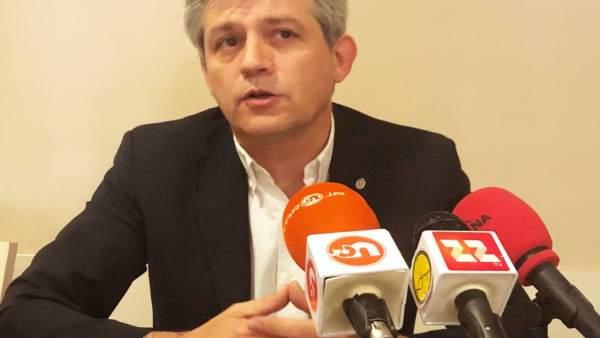 David Rodríguez, alcalde de Solsona (Lleida)