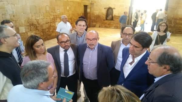 Instituciones presentes en la visita a Santa María de Huerta. 19-8-2018