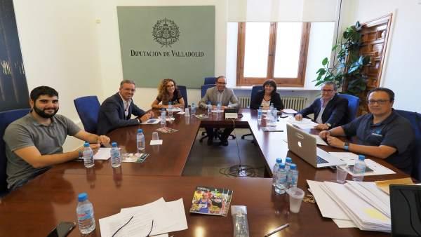 Jurado de los Premios de Periodismo Provincia de Valladolid 2017, 19-9-18