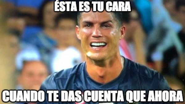 los memes del drama de cristiano ronaldo en mestalla