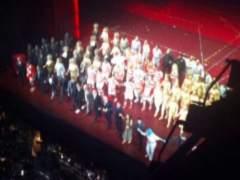 La tensión se cuela en el Teatro Real con un 'Faust' despedido entre abucheos por dos lazos amarillos