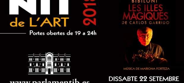 El Parlament vuelve a abrir sus puertas a los ciudadanos durante la Nit de l'Art
