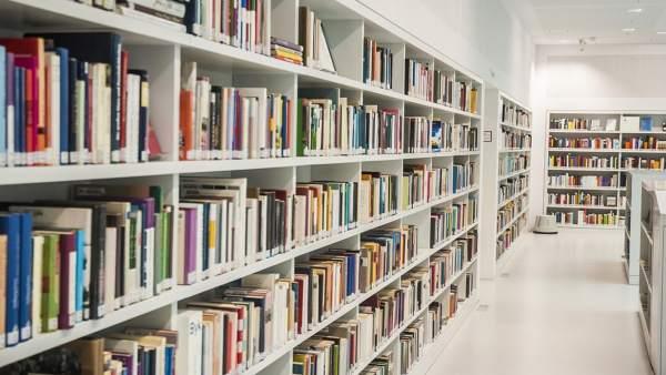 Biblioteca, libros, lectura