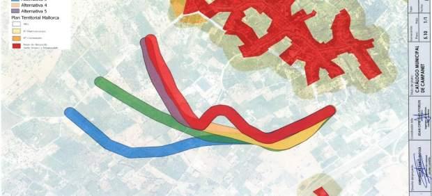 El GOB reclama al Consell la paralización de los proyectos de rondas hasta que se apruebe el Plan ...