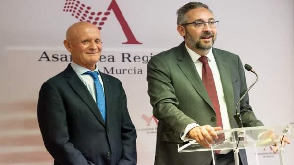 Domingo Coronado y Víctor Martínez