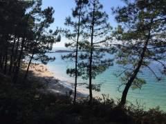 Playa en A Illa de Arousa