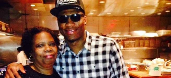 Marcus Smart y su madre