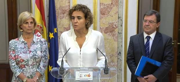 PP pide a PSOE que explique por qué ha publicado actas de Mesa del Congreso