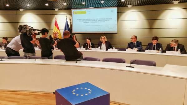 Sesión constitutiva del Consejo Rector de la Inspección