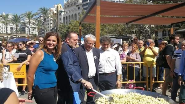 Celebració del Dia Mundial de la Paella